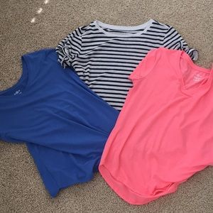 Tops - Set of 3 women's T-shirt's size large